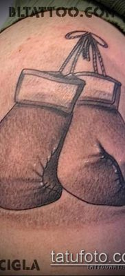 фото тату боксерские перчатки (Tattoo) (значение) – пример рисунка – 059 tatufoto.com