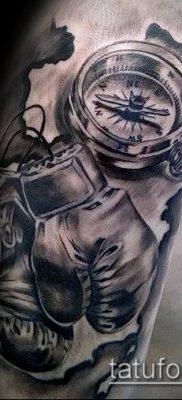 фото тату боксерские перчатки (Tattoo) (значение) – пример рисунка – 063 tatufoto.com