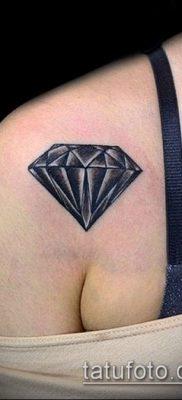 тату бриллиант №391 – достойный вариант рисунка, который удачно можно использовать для доработки и нанесения как тату бриллиант на пальце