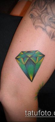 тату бриллиант №414 – достойный вариант рисунка, который удачно можно использовать для преобразования и нанесения как тату бриллиант на пальце
