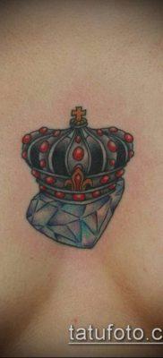 тату бриллиант №78 – эксклюзивный вариант рисунка, который легко можно использовать для доработки и нанесения как тату бриллиант на животе