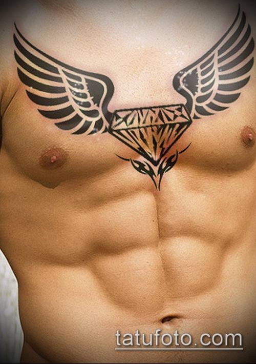 тату бриллиант №405 - интересный вариант рисунка, который удачно можно использовать для переработки и нанесения как тату бриллиант у девушки