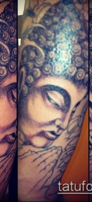 тату буддийские №836 – интересный вариант рисунка, который удачно можно использовать для доработки и нанесения как Buddhist Tattoos