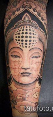 тату буддийские №401 – прикольный вариант рисунка, который успешно можно использовать для преобразования и нанесения как тату буддийская мандала