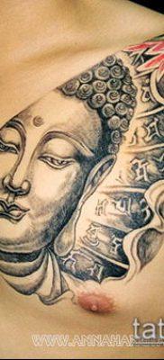тату буддийские №990 – эксклюзивный вариант рисунка, который успешно можно использовать для переработки и нанесения как Buddhist Tattoos