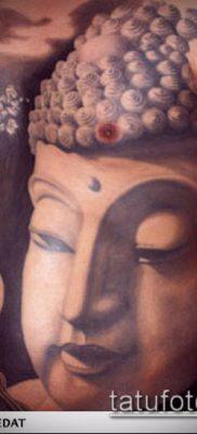 тату буддийские №955 – прикольный вариант рисунка, который удачно можно использовать для доработки и нанесения как тату буддийские мантры