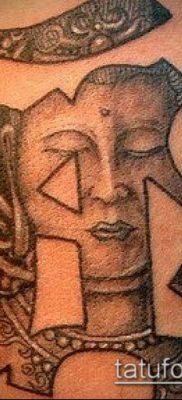 тату буддийские №396 – эксклюзивный вариант рисунка, который успешно можно использовать для преобразования и нанесения как тату буддийские мантры