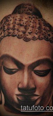 тату буддийские №19 – эксклюзивный вариант рисунка, который хорошо можно использовать для переделки и нанесения как тату буддийских монахов