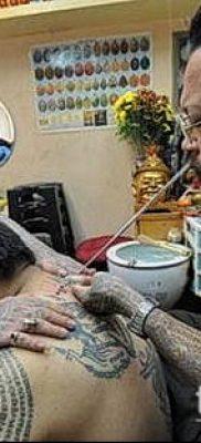 тату буддийские №665 – крутой вариант рисунка, который легко можно использовать для доработки и нанесения как буддийские тату обереги