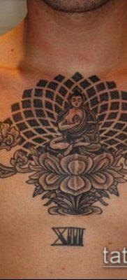 тату буддийские №59 – интересный вариант рисунка, который удачно можно использовать для преобразования и нанесения как Buddhist Tattoos