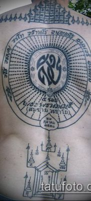 тату буддийские №246 – классный вариант рисунка, который хорошо можно использовать для переделки и нанесения как тату буддизм на руке