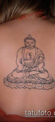 тату буддийские №983 – эксклюзивный вариант рисунка, который хорошо можно использовать для преобразования и нанесения как Buddhist Tattoos