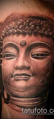 тату буддийские №356 – достойный вариант рисунка, который успешно можно использовать для переделки и нанесения как тату буддизм символы