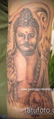 тату буддийские №96 – уникальный вариант рисунка, который успешно можно использовать для переделки и нанесения как тату буддизм символы