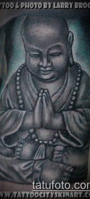 тату буддийские №286 – достойный вариант рисунка, который легко можно использовать для переделки и нанесения как Buddhist Tattoos