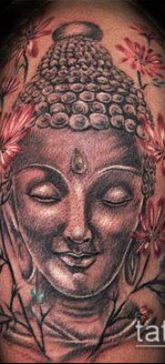 тату буддийские №587 – прикольный вариант рисунка, который удачно можно использовать для переработки и нанесения как тату буддизм на руке