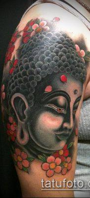 тату буддийские №108 – прикольный вариант рисунка, который успешно можно использовать для переделки и нанесения как тату в буддийском стиле
