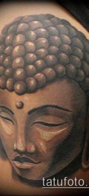 тату буддийские №371 – уникальный вариант рисунка, который успешно можно использовать для переделки и нанесения как тату буддийских монахов