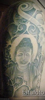 тату буддийские №712 – уникальный вариант рисунка, который хорошо можно использовать для переработки и нанесения как буддийские тату обереги