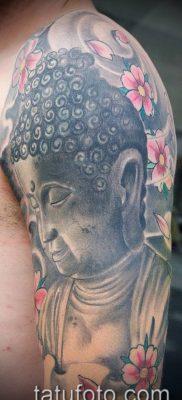 тату буддийские №854 – уникальный вариант рисунка, который легко можно использовать для доработки и нанесения как буддийские тату обереги