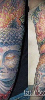 тату буддийские №847 – эксклюзивный вариант рисунка, который хорошо можно использовать для переработки и нанесения как тату буддизм символы