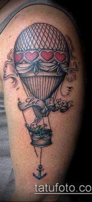 фото тату воздушный шар (Balloon tattoo) (значение) – пример рисунка – 229 tatufoto.com