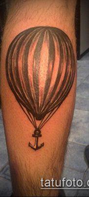 фото тату воздушный шар (Balloon tattoo) (значение) – пример рисунка – 238 tatufoto.com