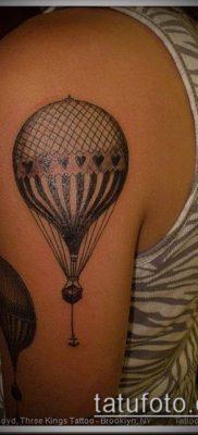 фото тату воздушный шар (Balloon tattoo) (значение) – пример рисунка – 239 tatufoto.com