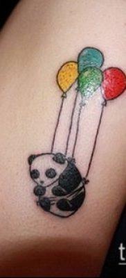 фото тату воздушный шар (Balloon tattoo) (значение) – пример рисунка – 244 tatufoto.com