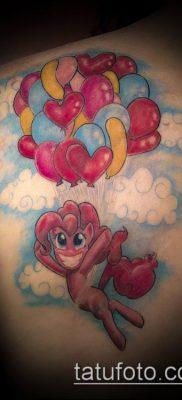 фото тату воздушный шар (Balloon tattoo) (значение) – пример рисунка – 246 tatufoto.com