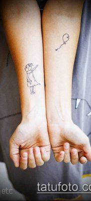 фото тату воздушный шар (Balloon tattoo) (значение) – пример рисунка – 252 tatufoto.com
