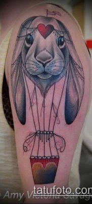 фото тату воздушный шар (Balloon tattoo) (значение) – пример рисунка – 254 tatufoto.com