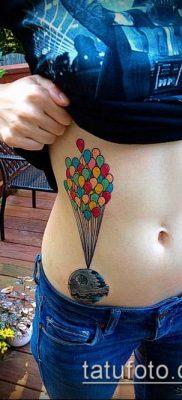 фото тату воздушный шар (Balloon tattoo) (значение) – пример рисунка – 256 tatufoto.com