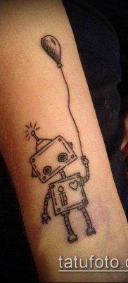 фото тату воздушный шар (Balloon tattoo) (значение) – пример рисунка – 257 tatufoto.com