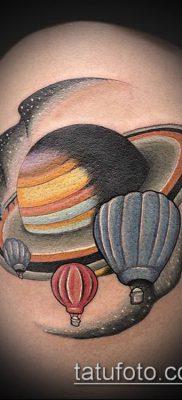 фото тату воздушный шар (Balloon tattoo) (значение) – пример рисунка – 262 tatufoto.com