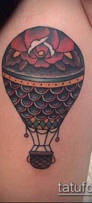 фото тату воздушный шар (Balloon tattoo) (значение) – пример рисунка – 263 tatufoto.com