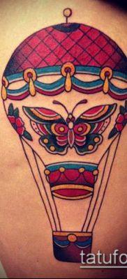 фото тату воздушный шар (Balloon tattoo) (значение) – пример рисунка – 264 tatufoto.com