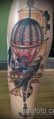 фото тату воздушный шар (Balloon tattoo) (значение) – пример рисунка – 265 tatufoto.com