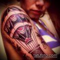 фото тату воздушный шар (Balloon tattoo) (значение) - пример рисунка - 268 tatufoto.com