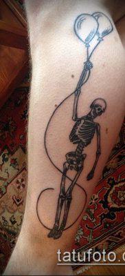 фото тату воздушный шар (Balloon tattoo) (значение) – пример рисунка – 270 tatufoto.com