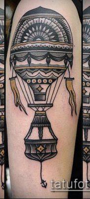 фото тату воздушный шар (Balloon tattoo) (значение) – пример рисунка – 279 tatufoto.com
