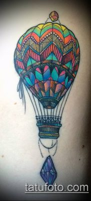 фото тату воздушный шар (Balloon tattoo) (значение) – пример рисунка – 287 tatufoto.com