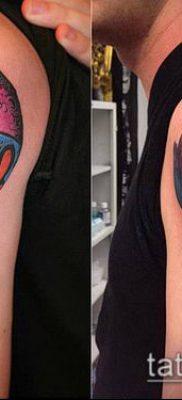 фото тату воздушный шар (Balloon tattoo) (значение) – пример рисунка – 291 tatufoto.com