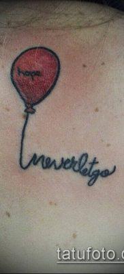 фото тату воздушный шар (Balloon tattoo) (значение) – пример рисунка – 293 tatufoto.com