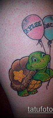 фото тату воздушный шар (Balloon tattoo) (значение) – пример рисунка – 301 tatufoto.com