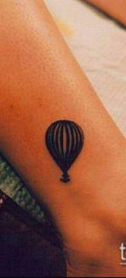 фото тату воздушный шар (Balloon tattoo) (значение) – пример рисунка – 307 tatufoto.com