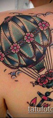 фото тату воздушный шар (Balloon tattoo) (значение) – пример рисунка – 311 tatufoto.com