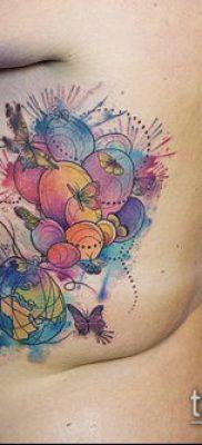 фото тату воздушный шар (Balloon tattoo) (значение) – пример рисунка – 316 tatufoto.com