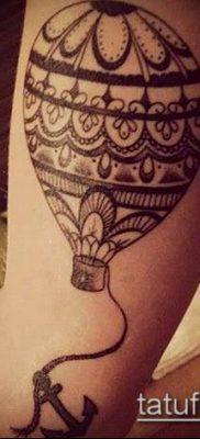 фото тату воздушный шар (Balloon tattoo) (значение) – пример рисунка – 319 tatufoto.com