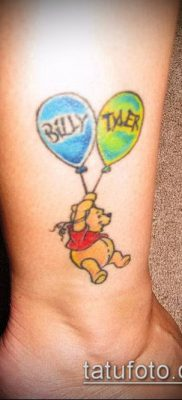 фото тату воздушный шар (Balloon tattoo) (значение) – пример рисунка – 322 tatufoto.com